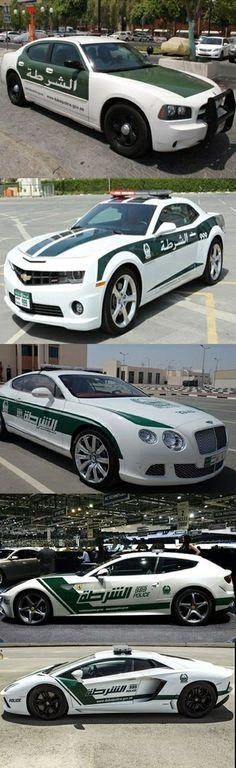 Meanwhile in Dubai. Police cars