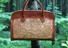 """Купить Кожаная сумка ручной работы """"Процветание"""" - Сумка женская кожаная, сумки ручной работы"""