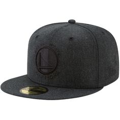 Golden State Warriors New Era Total Tone 59FIFTY Fitted Hat - Heathered  Black Minnesota Timberwolves 5dec4cb16