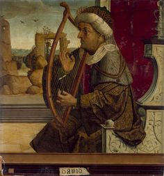 DAVID (1525). Maestro de BECERRIL (Palencia?, activo en torno a 1520). Pintor español representante del primer renacimiento en Castilla. No ha sido posible hasta el momento identificar el nombre de este artífice, el más aventajado de los discípulos de Juan de Flandes, influido también por Pedro Berruguete. Debido a ello, se utiliza para designarle el nombre del lugar para el que hizo una de sus obras más relevantes, el retablo de la iglesia de San Pelayo del pueblo palentino de Becerril de…