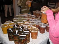 soup swap gathering - love this idea for church gatherings