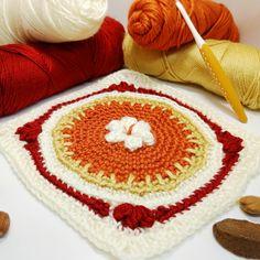 Granny Square Crochet Pattern, Crochet Squares, Granny Squares, Crochet Granny, Ribbed Crochet, All Free Crochet, Learn To Crochet, Crochet Blogs, Crochet Fall