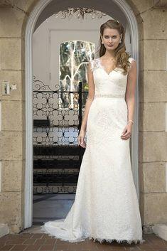 cdbaadd972 Angel  amp  Tradition AT4649 A-Line Wedding Dress Bridal Dresses