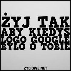 Logo Google o tobie