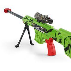 Juguete rifle de francotirador arma pistola de desinstalar orbeez flare paintball airsoft pistola de luz pistola de juguete pistola de bala suave de cristal