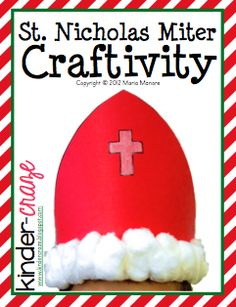 Ideas and Freebies for St. Nicholas Day - Kinder Craze: A Kindergarten Teaching Blog