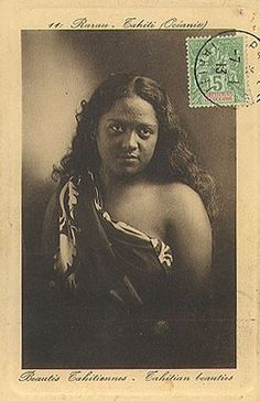 Polynesian Men, Polynesian Culture, Vintage Cards, Vintage Postcards, Native American Teepee, Tahiti Nui, Society Islands, Decorated Envelopes, Cultural Studies