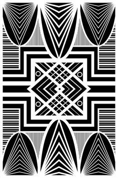 Art Deco print, wall art