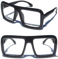 Square Frame Reading Glasses | Top Thick Black Square Frame Clear Lens Glasses |