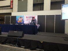 En directo de la presentación de Mediatres en el XXI Salón del Manga de Barcelona