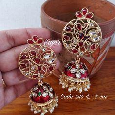 Earrings by Ankh Jewels for booking msg on Jewelry Boards, Designer Earrings, Jewels, Jewellery, Bracelets, Accessories, Beautiful, Dresses, Vestidos