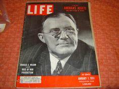 LIFE CHARLES E WILSON Boss of War Production Nearly by LONLAR803, $10.00