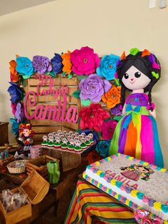 Girl Birthday Themes, Mom Birthday, Mexican Quinceanera Dresses, Mexican Party, Ideas Para Fiestas, Fiesta Party, Mexican Folk Art, Holiday Crafts, Baby Shower