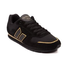 Shop for Mens Macbeth Fischer Skate Shoe in Black at Journeys Shoes. Shop today for the hottest brands in mens shoes and womens shoes at Journeys.com.Simple, classic, and stylish. The versatile Fischer skate sneaker from Macbeth is great for both casual and athletic wear. Features a suedemesh combo upper, padded collar, lace closure, and durable rubber outsole. This black and gold colorway is part of the Tom Delonge Studio Project Collection and includes an awesome multicolored footbed.