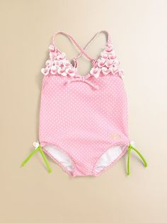 f0af3e73b026f Juicy Couture - Infant's Polka Dot One-Piece Swimsuit - Saks.com Polka Dot