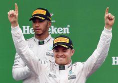 Rosberg aprovecha el error de Hamilton gana en Monza y aprieta el Mundial
