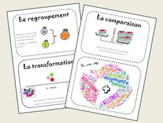 outils pour DEFI (résolution de problèmes) Equivalent Fractions, French Immersion, Cycle 3, Number Sense, French Language, Mathematics, Language Arts, Bullet Journal, Classroom
