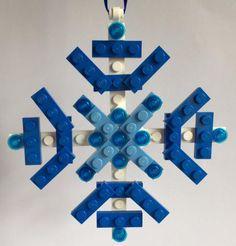 LEGO® Snowflake Christmas Decoration Christmas Ornament