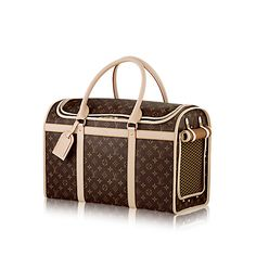 876795423aac Discover Louis Vuitton Dog Carrier 50  This spacious pet carrier is  resistant to water and