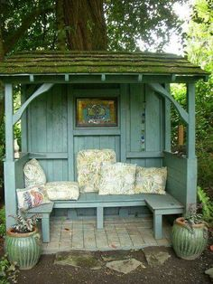 Just an amazing little backyard spot! So many possibilities for this little Nook!