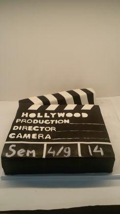 Hollywood film taart