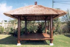 All Natural Bali Hut	#Bali Hut in your house and make it seem like a very good AND sensible idea. Bali hut can provide as a sanctuary from the day's problems and It makes for a great party space.