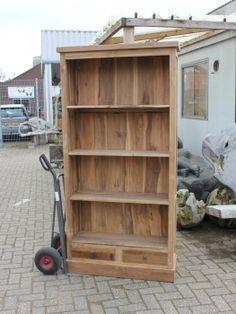 Boekenkast teak Deloodsmeubelen.nl