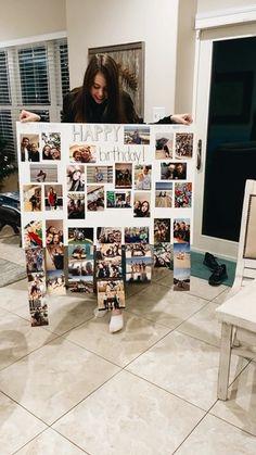 18th Birthday Gifts For Best Friend, Cute Best Friend Gifts, Birthday Gifts For Boyfriend Diy, 17th Birthday Gifts, Handmade Birthday Gifts, Creative Birthday Gifts, Cute Birthday Gift, Bestfriend Birthday Ideas, 16 Birthday Presents
