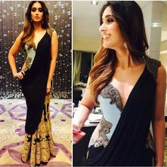 Saree gown..monisha jaisingh