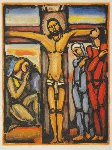 CONDISCÍPULOS DE MOREAU - .Crucifixión de ROUALT