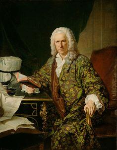 Portrait of Marc de Villiers, Secretaire du Roi, 1747, by Jacques-André-Joseph Aved
