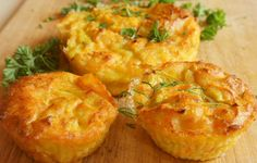 Ham, Egg, and Cheese muffins Breakfast And Brunch, Healthy Breakfast Dishes, Breakfast Recipes, Sunday Brunch, Breakfast Casserole, Gf Recipes, Low Carb Recipes, Healthy Recipes, Egg White Muffins