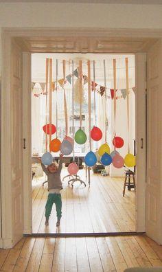 Décoration maison pour anniversaire - Ballons gonflables