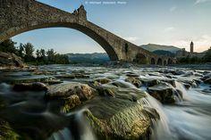 Ponte Gobbo, Italia #bridge #beautifulplaces