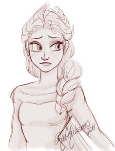 Frozen Art, Elsa Frozen, Disney Frozen, Walt Disney, Frozen Drawings, Disney Sketches, Boy Pictures, Manga Artist, Girls Characters
