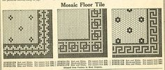 Friederichsen Floor & Wall Tile catalog, 1929 - Google Search  I'm in love!
