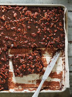 Gâteau plaque au chocolat (Texas Sheet Cake)