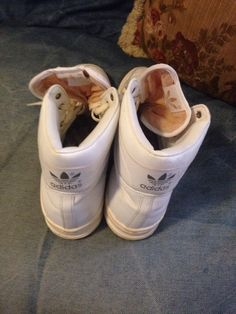 Original Vintage Adidas High Top Shoes Made in France Size 11 5 | eBay