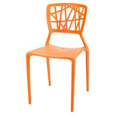 You should see this Phoenix Dining Side Chair in Orange on Daily Sales!