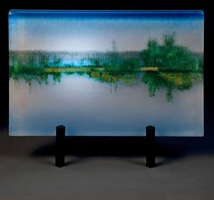 High Tide: Paul Messink: Art Glass Sculpture | Artful Home