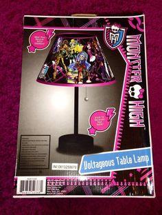 Monster High Lamp room decor