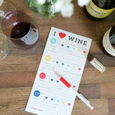 Planning a wine party? Download these free printable tasting cards!