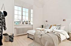 Design Hub - блог о дизайне интерьера и архитектуре: Стильная квартира в Стокгольме