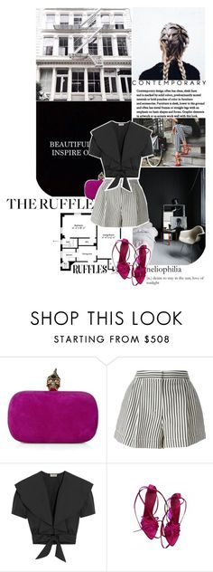 """""""made to love."""" by mademoiselledeea ❤ liked on Polyvore featuring Alexander McQueen, 3.1 Phillip Lim, Ciao Bella, Temperley London, Barneys New York and Yves Saint Laurent"""