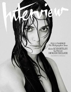 Keira Knightley for Interview September 2014 Cover
