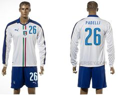 http://www.xjersey.com/italy-26-padelli-away-euro-2016-long-sleeve-jersey.html ITALY 26 PADELLI AWAY EURO 2016 LONG SLEEVE JERSEY Only 33.11€ , Free Shipping!