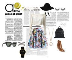 """Sweet, but Sour-like a lemon."" by trendyari ❤ liked on Polyvore"