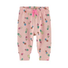 Stella McCartney Kids - Printed organic cotton pants - 203315