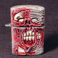 Zombie Zippo Lighter