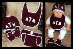 Texas A Baby set.